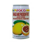 """Сок от манго и маракуя """"Foco"""""""